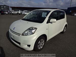 Used 2008 TOYOTA PASSO BG111980 for Sale