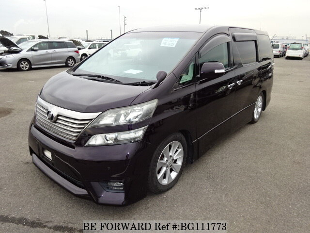 Used 2009 TOYOTA VELLFIRE BG111773 for Sale