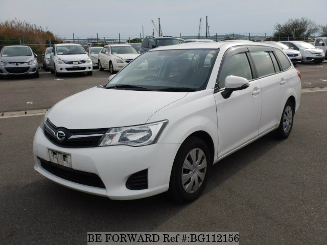 Used 2013 TOYOTA COROLLA FIELDER BG112156 for Sale