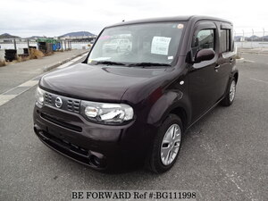 Used 2011 NISSAN CUBE BG111998 for Sale