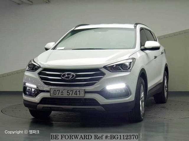Used 2017 Hyundai Santa Fe For Sale Bg112370 Be Forward