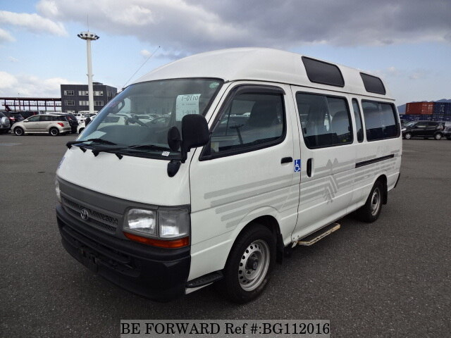 Used 2000 TOYOTA HIACE COMMUTER BG112016 for Sale