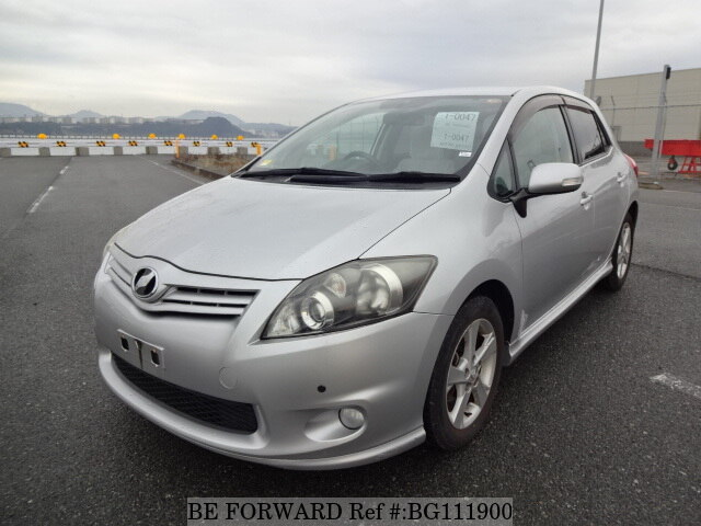 Used 2009 TOYOTA AURIS BG111900 for Sale