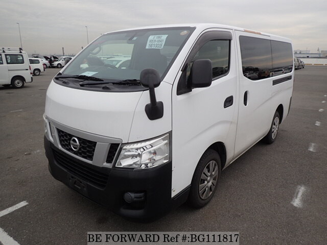 Used 2012 NISSAN CARAVAN VAN BG111817 for Sale