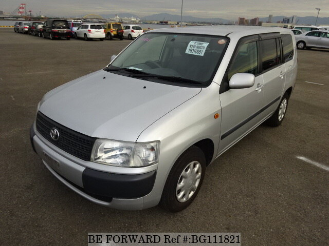 Used 2011 TOYOTA PROBOX WAGON BG111821 for Sale