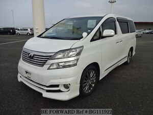 Used 2008 TOYOTA VELLFIRE BG111922 for Sale