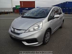 Used 2013 HONDA FIT SHUTTLE HYBRID BG111914 for Sale