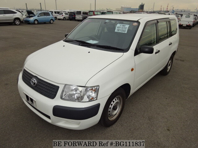 Used 2013 TOYOTA SUCCEED VAN BG111837 for Sale