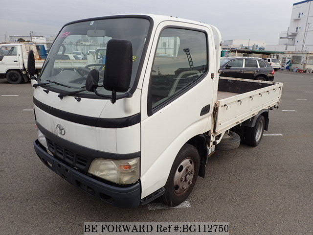 Used 2005 TOYOTA DYNA TRUCK BG112750 for Sale