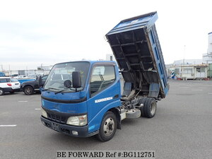 Used 2002 HINO DUTRO BG112751 for Sale