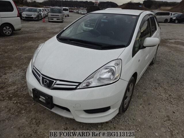 Used 2012 HONDA FIT SHUTTLE BG113123 for Sale