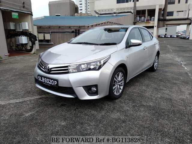 Used 2016 Toyota Corolla Altis Bg113828 For