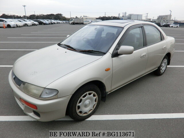 Used 1995 MAZDA FAMILIA BG113671 for Sale
