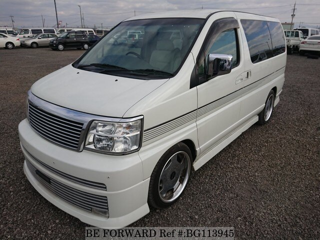 Used 2001 NISSAN ELGRAND BG113945 for Sale