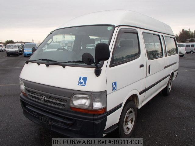cf5d4cbe5d Used 2002 TOYOTA HIACE COMMUTER GL GE-RZH125B for Sale BG114339 - BE ...