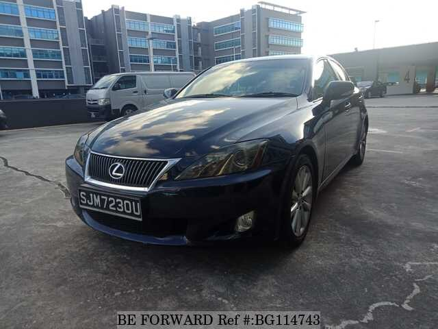 Used 2009 LEXUS IS BG114743 for Sale