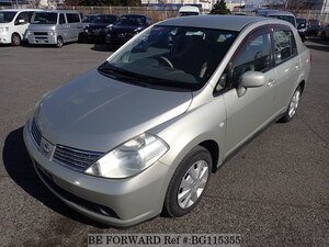 Used 2005 NISSAN TIIDA LATIO BG115355 for Sale
