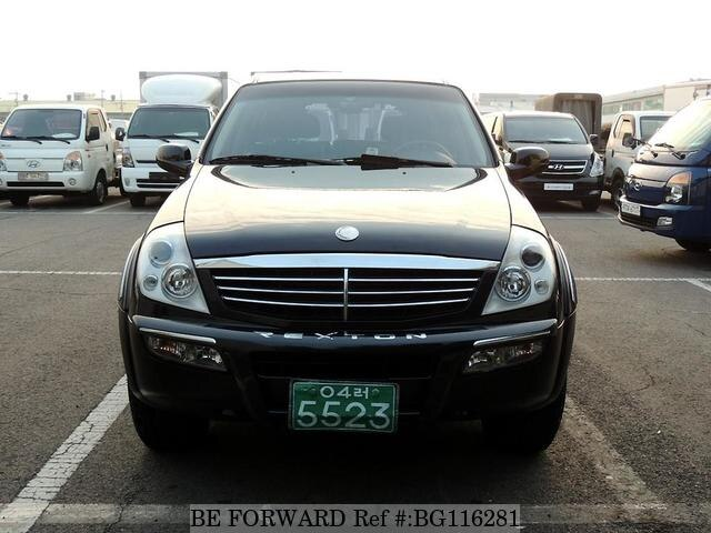 Used 2006 SSANGYONG REXTON BG116281 for Sale