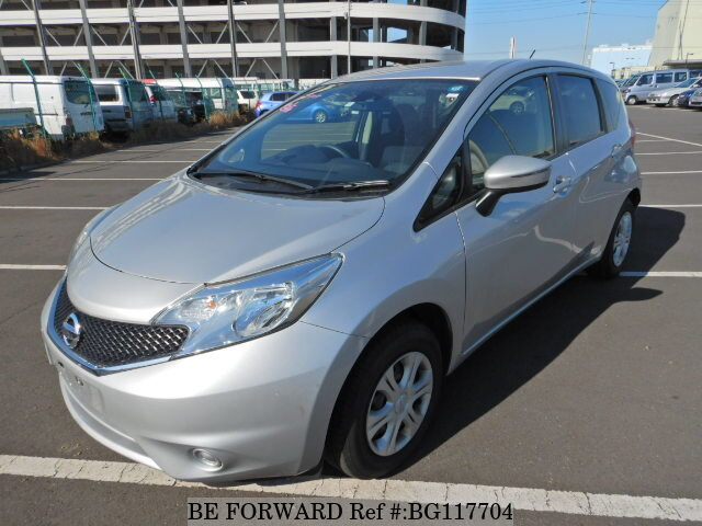 Nissan Note Occasion >> 2016 Nissan Note X Dba E12 D Occasion Bg117704 Be Forward