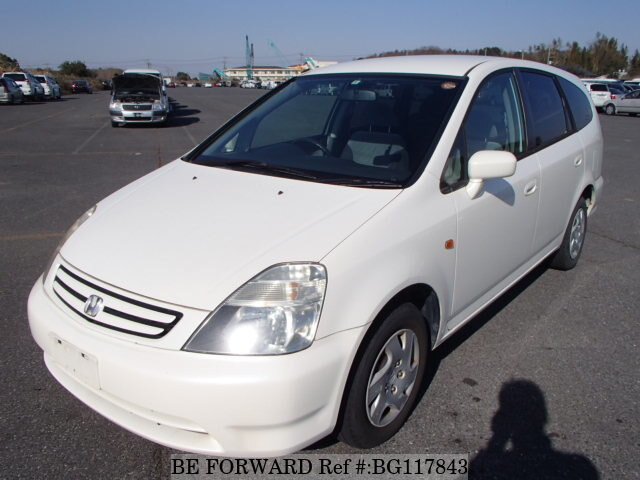 Used 2002 HONDA STREAM BG117843 for Sale