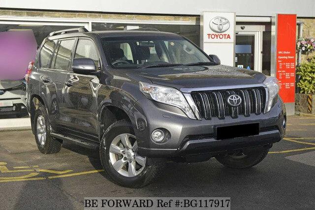 Used 2017 Toyota Land Cruiser Auction Grade 4 5 Auto Diesel For Sale