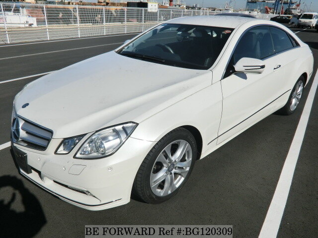 used 2010 mercedes-benz e-class e350 coupe/dba-207356 for sale