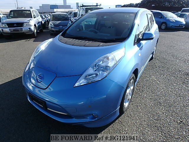 Used 2012 NISSAN LEAF BG121941 for Sale