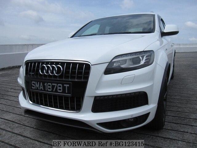 2012 Audi Q7 S Line Tfsi Quattro D Occasion Bg123415 Be Forward