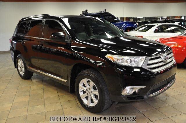 2012 Toyota Highlander For Sale >> Used 2012 Toyota Highlander 4 Se For Sale Bg123832 Be Forward