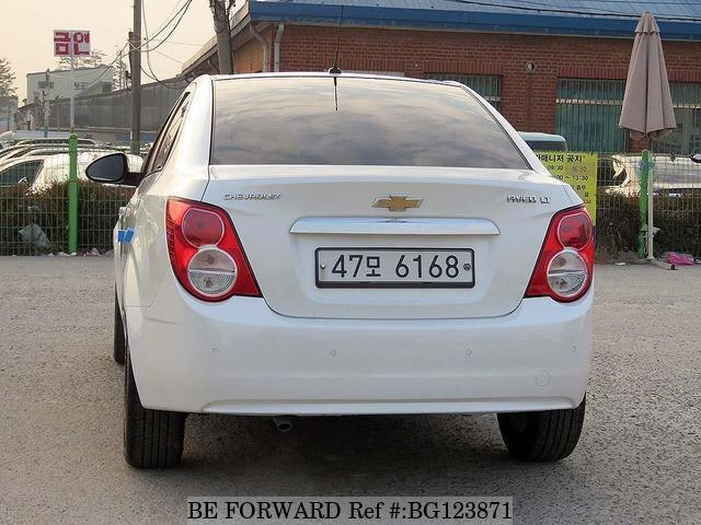 Used 2014 Chevrolet Aveo For Sale Bg123871 Be Forward