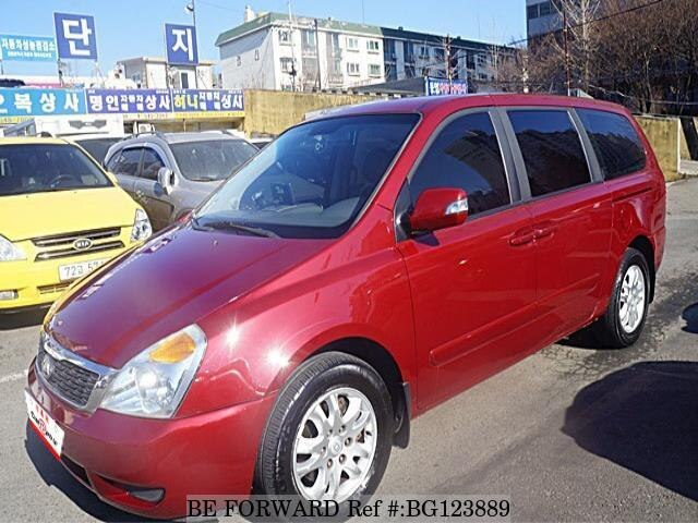 Used 2010 KIA CARNIVAL BG123889 for Sale