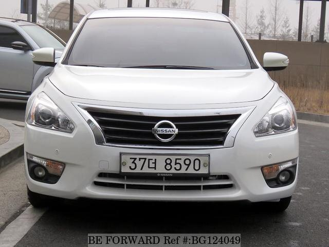 2014 Nissan Altima For Sale >> Used 2014 Nissan Altima For Sale Bg124049 Be Forward