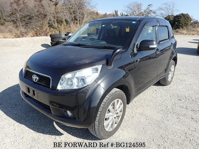 Used 2008 TOYOTA RUSH BG124595 for Sale