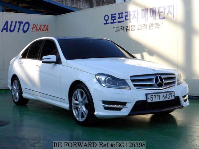dac3b91e03 Used 2013 MERCEDES-BENZ C-CLASS for Sale BG125398 - BE FORWARD