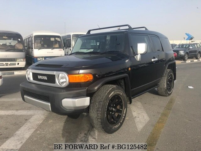 Used Toyota Fj Cruiser >> Used 2014 Toyota Fj Cruiser For Sale Bg125482 Be Forward