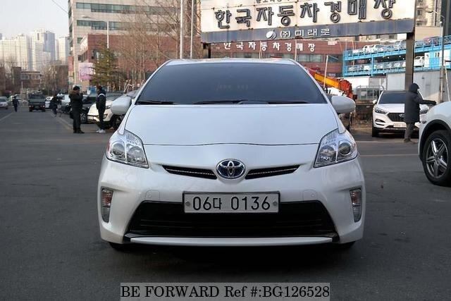 Used 2017 Toyota Prius Bg126528 For