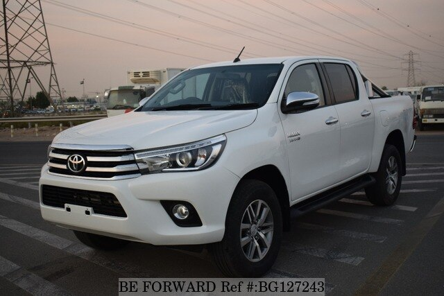 Toyota Hilux 2017 >> Used 2017 Toyota Hilux 2 8 For Sale Bg127243 Be Forward
