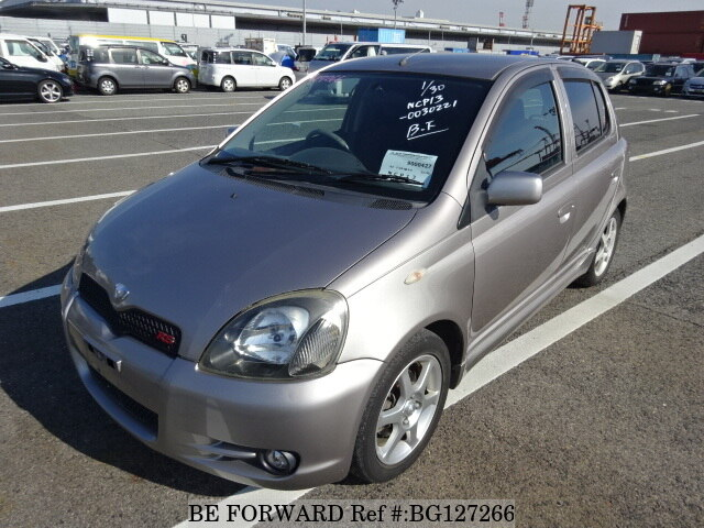 Used 2002 TOYOTA VITZ RS/TA-NCP13 for Sale BG127266 - BE FORWARD