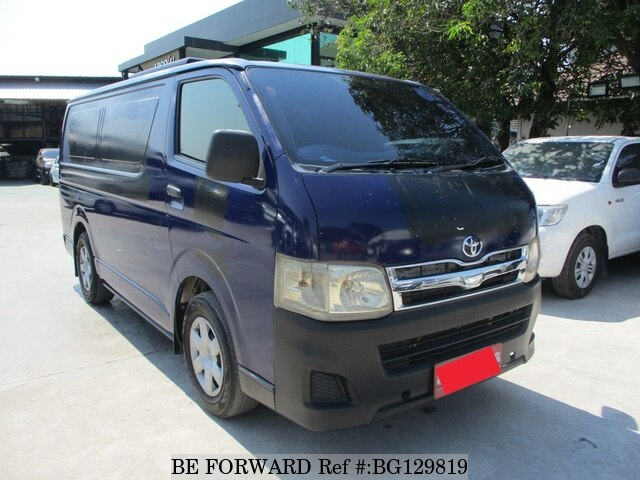9636cf342c1b63 Used 2012 TOYOTA HIACE COMMUTER 2.5 for Sale BG129819 - BE FORWARD