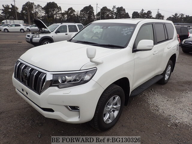 Used 2017 TOYOTA LAND CRUISER PRADO BG130326 for Sale