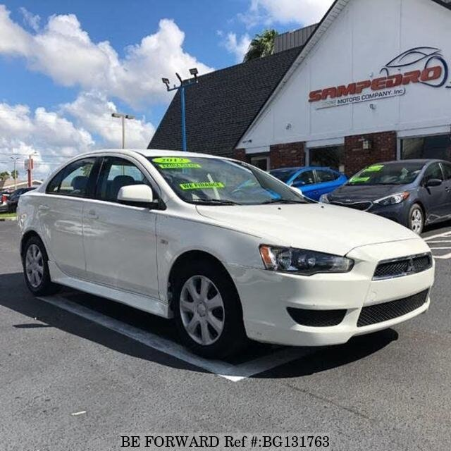 Used Mitsubishi Lancer >> Used 2012 Mitsubishi Lancer 4 Es For Sale Bg131763 Be Forward