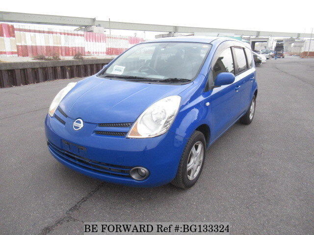 Nissan Note Occasion >> 2006 Nissan Note 15e Four Dba Ne11 D Occasion Bg133324 Be Forward