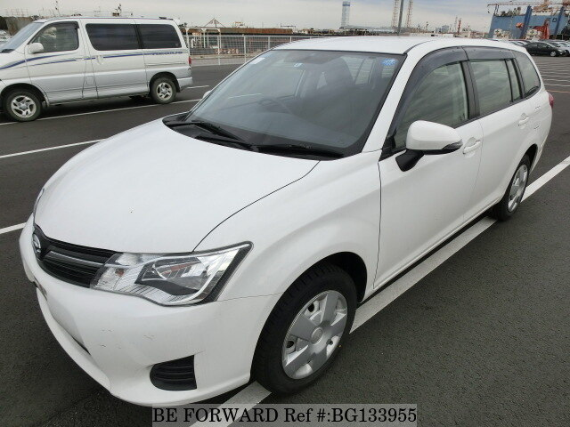 Used 2014 TOYOTA COROLLA FIELDER BG133955 for Sale