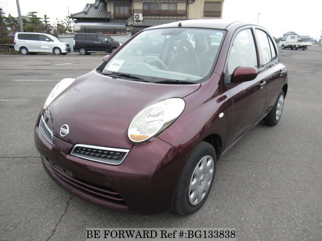 Used 2009 NISSAN MARCH BG133838 for Sale