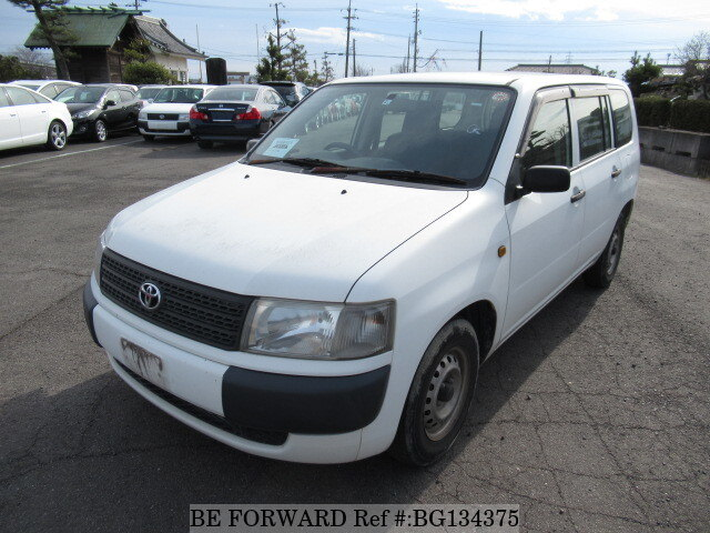 Used 2008 TOYOTA PROBOX VAN BG134375 for Sale