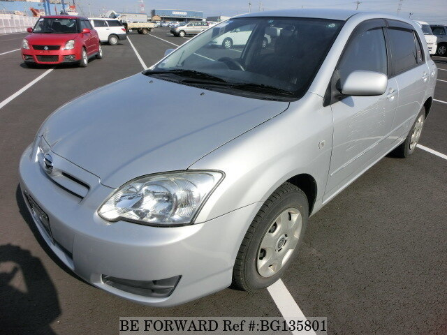 Used 2005 TOYOTA COROLLA RUNX BG135801 for Sale