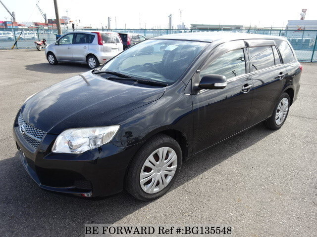 Used 2008 TOYOTA COROLLA FIELDER BG135548 for Sale