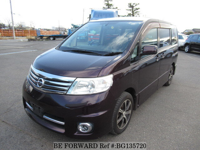 Used 2007 NISSAN SERENA BG135720 for Sale