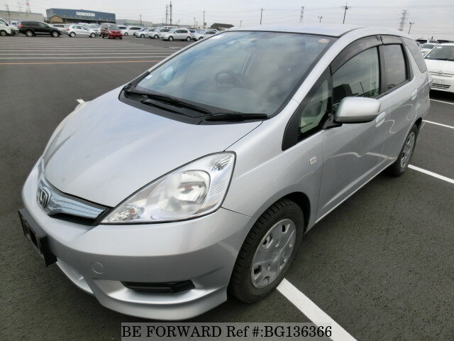 Used 2011 HONDA FIT SHUTTLE HYBRID BG136366 for Sale