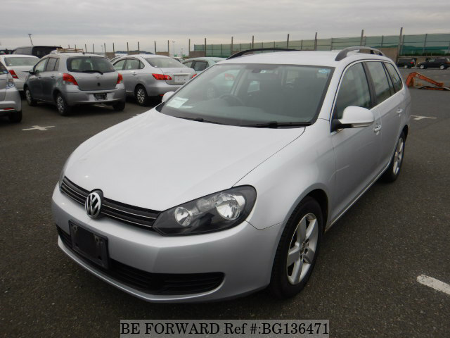 Used 2012 VOLKSWAGEN GOLF VARIANT BG136471 for Sale